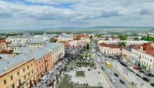 Центральная площадь Черновцы
